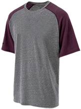 Hillside Middle School Eagles Tri-blend Heathered Shirt