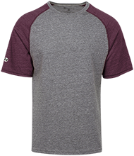 Central Catholic High School Rams Tri-blend Heathered Shirt