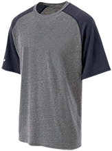 John Burroughs High School Bombers Tri-blend Heathered Shirt