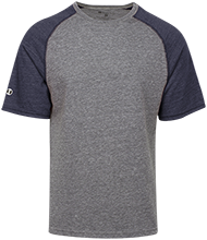 Bartlesville High School Bruins Tri-blend Heathered Shirt