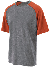Mitchell High School Marauders Tri-blend Heathered Shirt