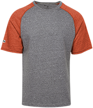 Portage Northern High School Huskies Tri-blend Heathered Shirt