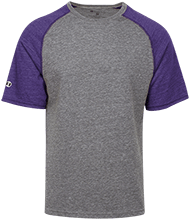 Elizabeth Kizer Elementary School Trains Tri-blend Heathered Shirt