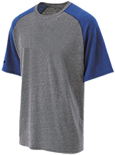 Hightstown High School Rams Tri-blend Heathered Shirt