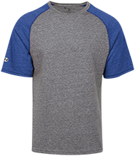 Danby Rush Tower Middle School Blue Jays Tri-blend Heathered Shirt
