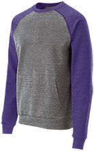 Waukee Middle School Warriors Vintage Fleece Heathered Crew