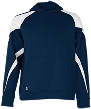 Lansing Eastern High School Quakers Holloway Youth Colorblock Hoodie