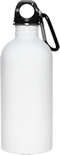 Meskwaki High School Warriors White Stainless ST-Shirtl Water Bottle