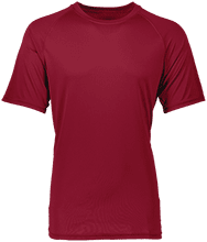 Shepherd Of The Valley Lutheran Adult Raglan Sleeve Wicking Shirt