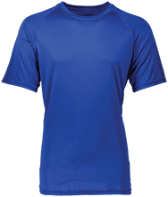 Malverne High School Adult Raglan Sleeve Wicking Shirt
