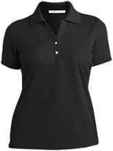 Clay Springs Elementary School Black Bears Ladies Nike® Dri-Fit Polo Shirt