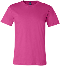 Custom Bella + Canvas Unisex Jersey Short-Sleeve T-Shirt