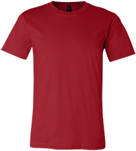 Design yours Football Bella + Canvas Unisex Jersey Short-Sleeve T-Shirt