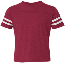 Clover Middle School Eagles Toddler Football Fine Jersey T-Shirt