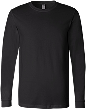Football Bella+Canvas Men's Jersey Long Sleeve