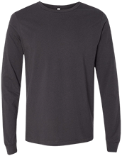The Bridgeway School School Bella+Canvas Men's Jersey Long Sleeve