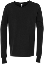 Soccer Bella+Canvas Youth Jersey Long Sleeve