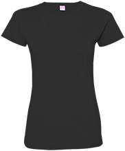 Leonhard Elementary School Leopards Ladies Custom Fine Jersey T-Shirt