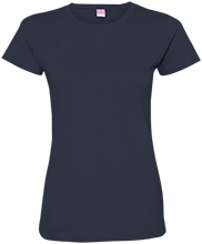 Viking Alternative School School Ladies Custom Fine Jersey T-Shirt