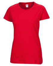 Luther L. Wright High School Red Devils Ladies Custom Fine Jersey T-Shirt