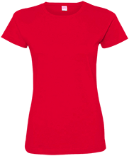 Lopez Elementary School Indians Ladies Custom Fine Jersey T-Shirt