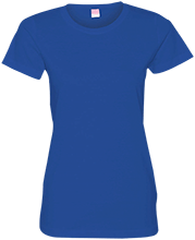 Baseball Ladies Custom Fine Jersey T-Shirt