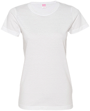 Shepherd Of The Valley Lutheran Ladies Custom Fine Jersey T-Shirt
