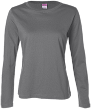 Discovery Charter School - Tracy School Ladies Long Sleeve Cotton TShirt