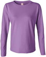 De Forest Area High School Norskies Ladies Long Sleeve Cotton TShirt