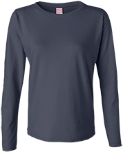 Academy of St. Elizabeth Panthers Ladies Long Sleeve Cotton TShirt