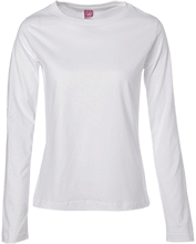 Manchester East Soccer Ladies Long Sleeve Cotton TShirt