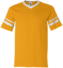Madison Rural Elementary School Eagles V-Neck Sleeve Stripe Jersey