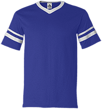 Bristol Bay Angels V-Neck Sleeve Stripe Jersey