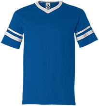 Lasalle II Falcons V-Neck Sleeve Stripe Jersey