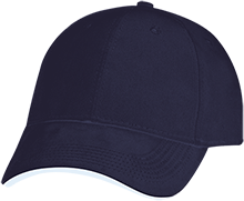 Rancho High Alumni Rams USA Made Structured Twill Cap With Sandwich Visor