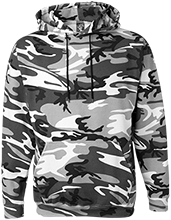 Brethren Christian School Bruins Create Your Own Camouflage Pullover Sweatshirts
