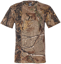 Holiday Short Sleeve Camouflage TShirt