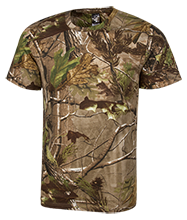 Birthday Short Sleeve Camouflage TShirt