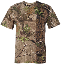 Tee Ball Short Sleeve Camouflage TShirt