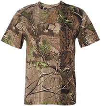 Shepherd Of The Valley Lutheran Short Sleeve Camouflage TShirt