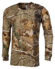 Peabody Veterans Memorial High School Tanners Long Sleeve Camo T-Shirt