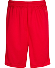 Shaw High School Cardinals Sweat Absorbing Short with Pockets