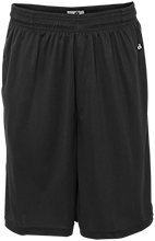 Beachwood Middle School Bison Sweat Absorbing Short with Pockets