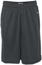 Grace Prep High School Lions Sweat Absorbing Short with Pockets