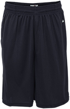 Presentation of Mary Academy Panthers Sweat Absorbing Short with Pockets