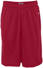 Saint Matthew Lutheran School Cardinals Sweat Absorbing Short with Pockets