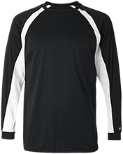 Warm Up Long Sleeve Performance Colorblocked T Shirt