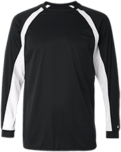 Softball Long Sleeve Performance Colorblocked T Shirt