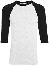 Rancho High Alumni Rams Adult Colorblock Raglan Jersey
