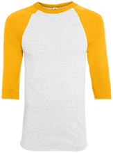 St. Francis Indians Football Youth Colorblock Raglan Jersey